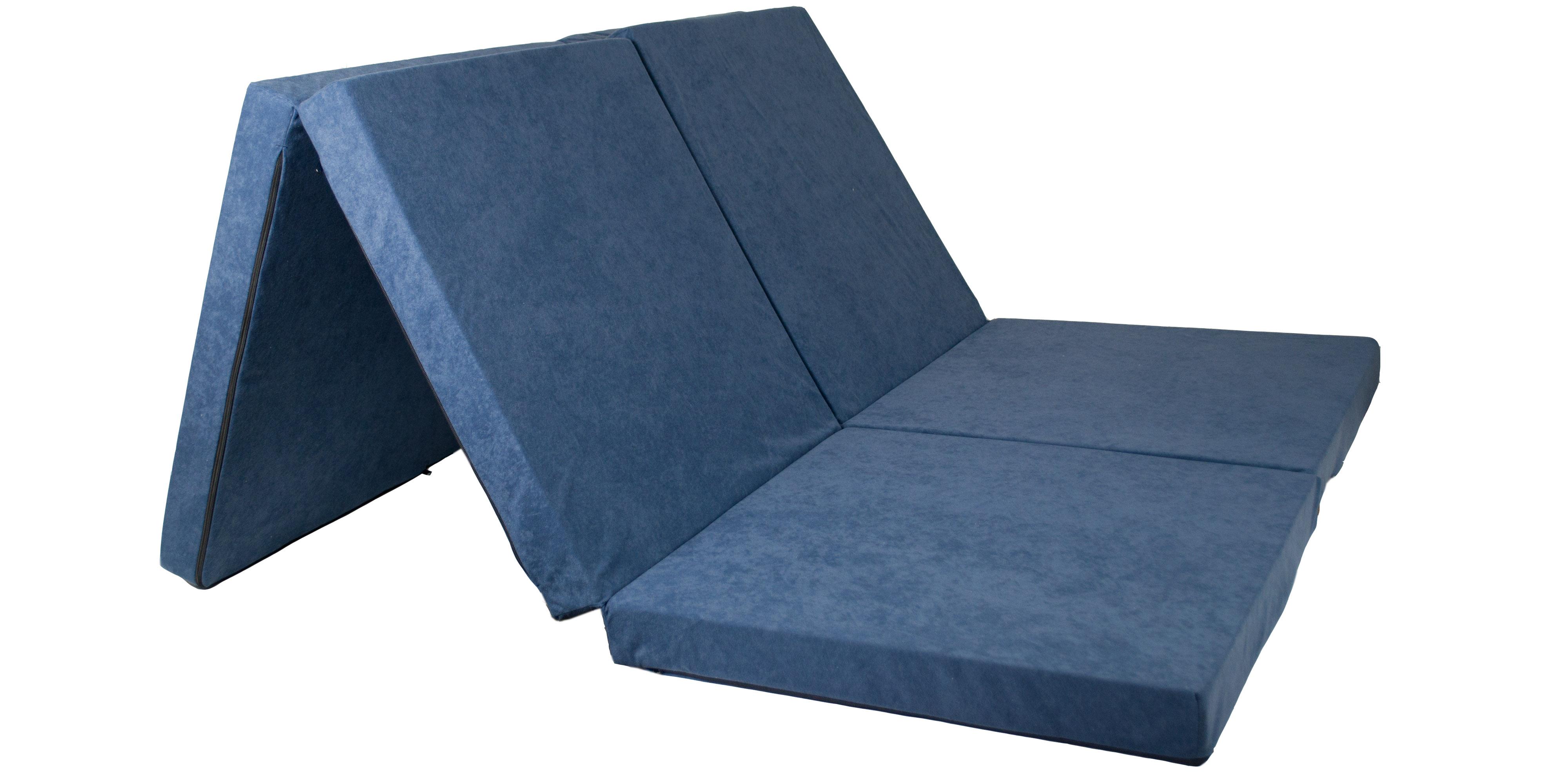 Fimex Skládací matrace pro hosty Duo modrá