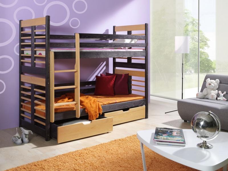 MebloBed Patrová postel Augustyn 90x200 cm
