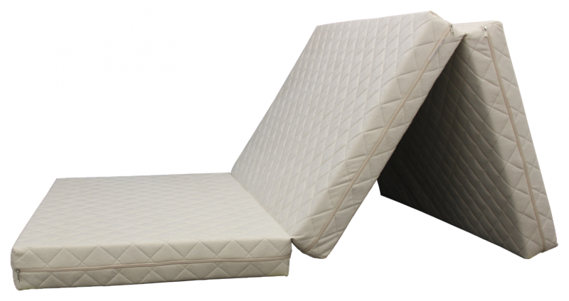 e-matrace.com Skládací matrace Deluxe Vanilla - 90x195x10 cm