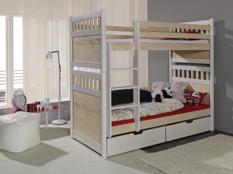 MebloBed Patrová postel Salomon 80x200 cm