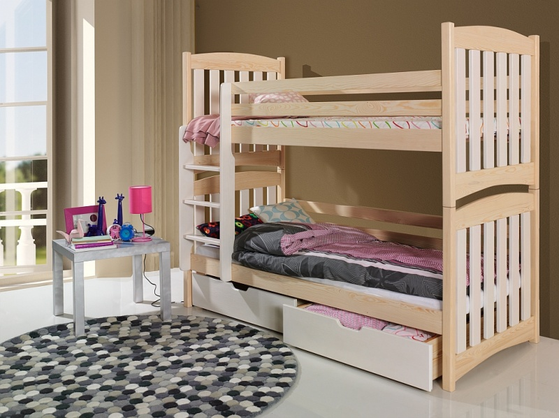 MebloBed Patrová postel Sefarin 80x200 cm
