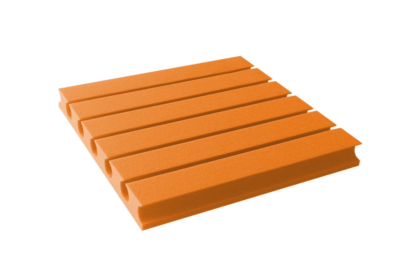 Mega-acoustic Akustická pěna premium PM-3 oranžová 45x45x6 cm