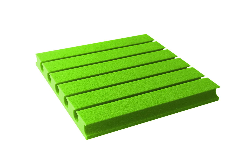 Mega-acoustic Akustická pěna premium PM-3 zelená 45x45x6 cm