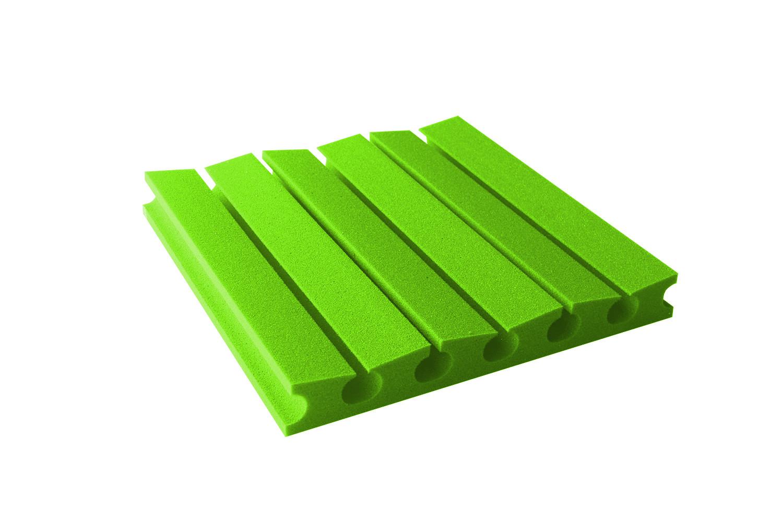 Mega-acoustic Akustická pěna premium PM-3U zelená 45x45x6 cm