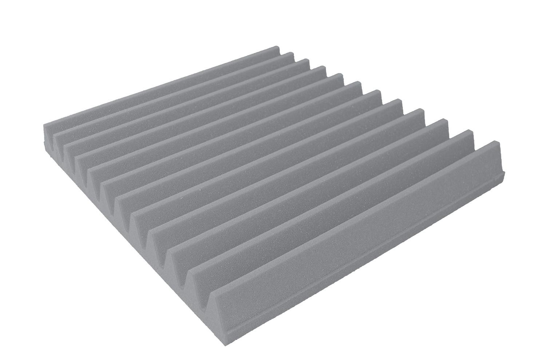 Mega-acoustic Akustická pěna premium Trapez šedá 30x30x7 cm