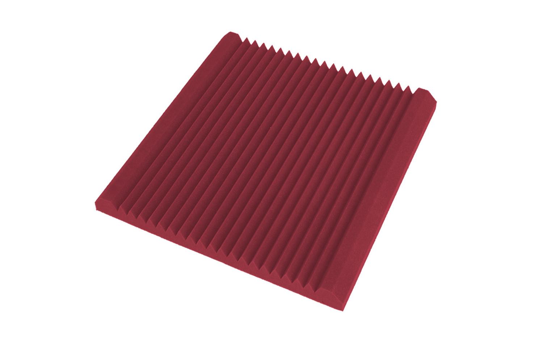 Mega-acoustic Akustická pěna premium V-profil červená