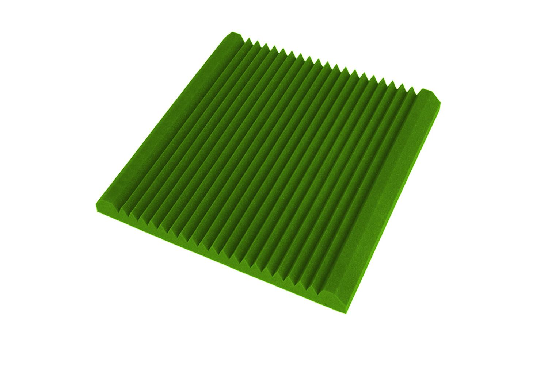 Mega-acoustic Akustická pěna premium V-profil zelená