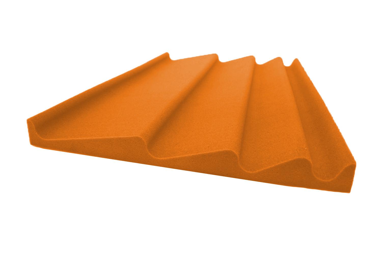 Mega-acoustic Akustická pěna premium Vlna oranžová B