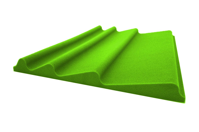 Mega-acoustic Akustická pěna premium Vlna zelená A
