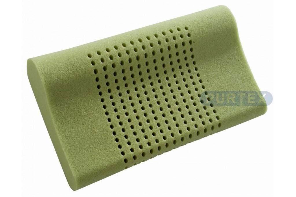 Purtex Anatomický polštář ERGOlux 50x29 cm - potah Greenfirst
