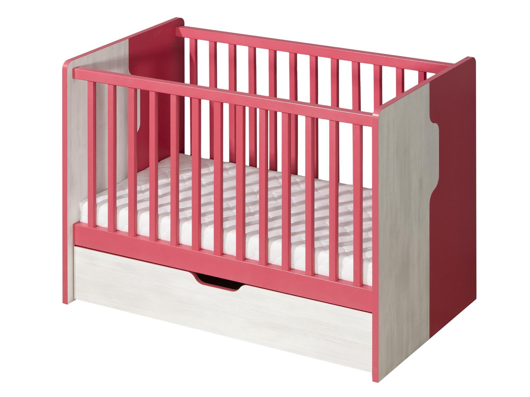 Dolmar Dětská postýlka Nuki NU10 s úložným prostorem