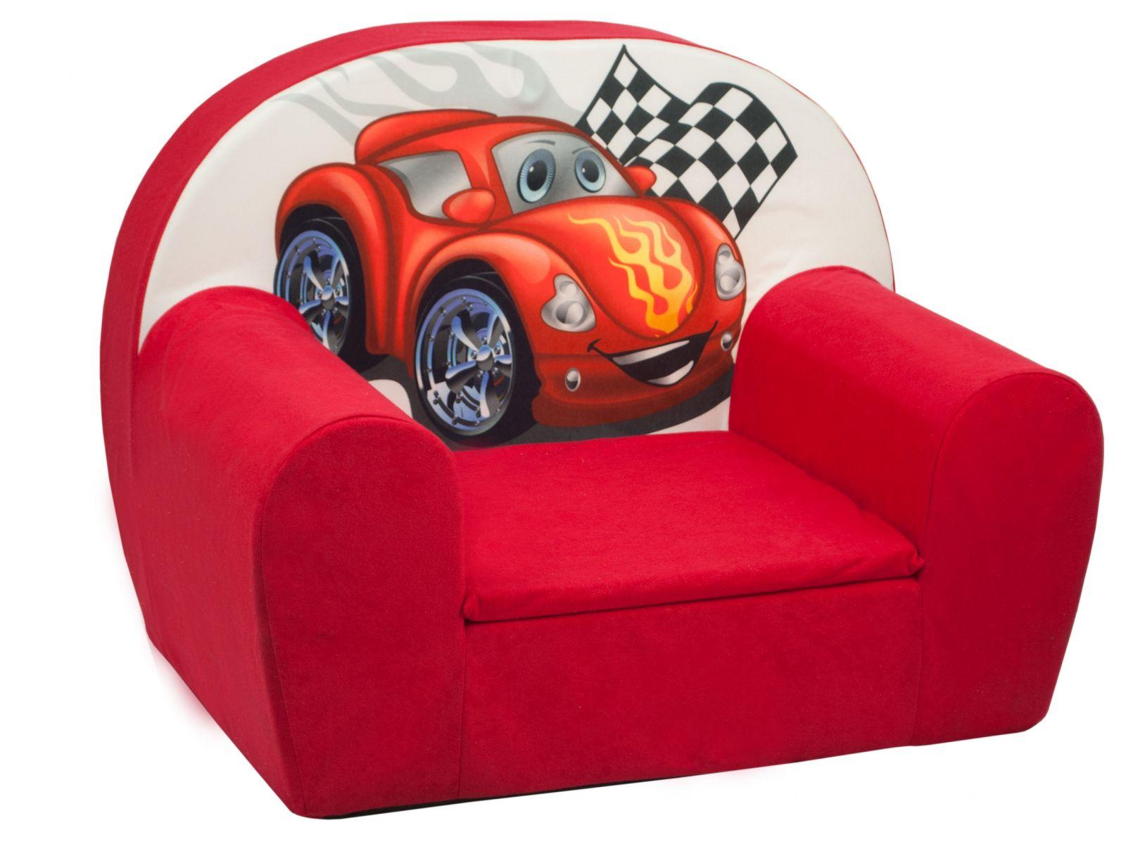 Fimex Dětské křesílko Auto červené