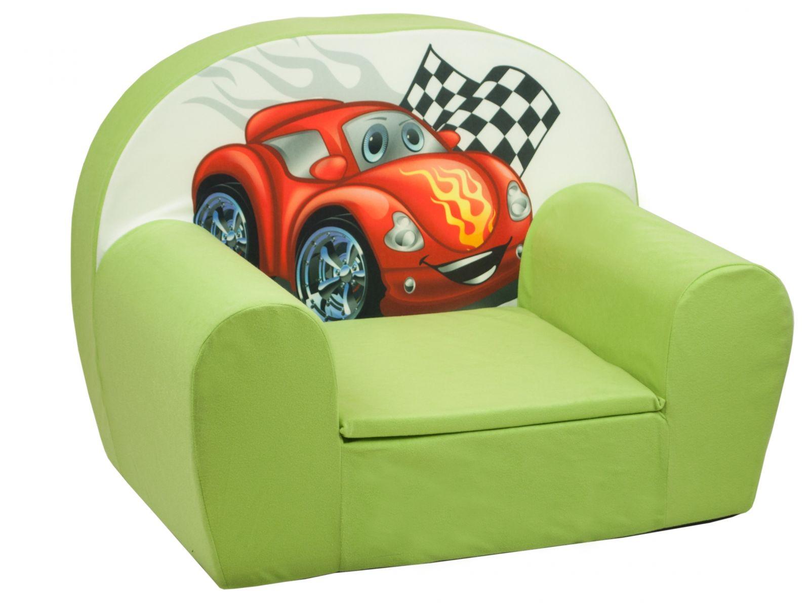 Fimex Dětské křesílko Auto zelené