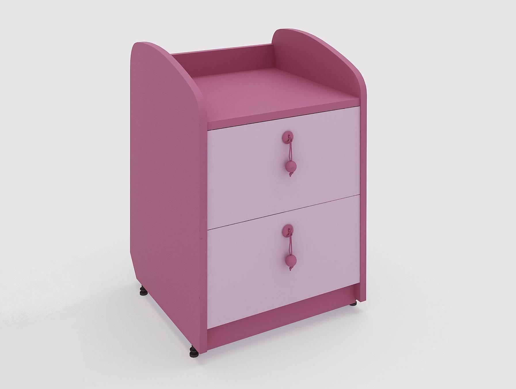 Lenza Dětský noční stolek Mia 2 44,6x65x45 cm