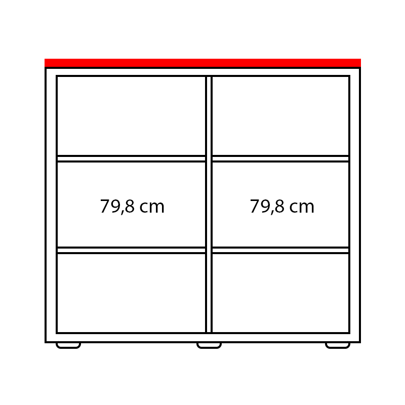 Lenza Horní obkladová deska Wels Š 167,6 cm