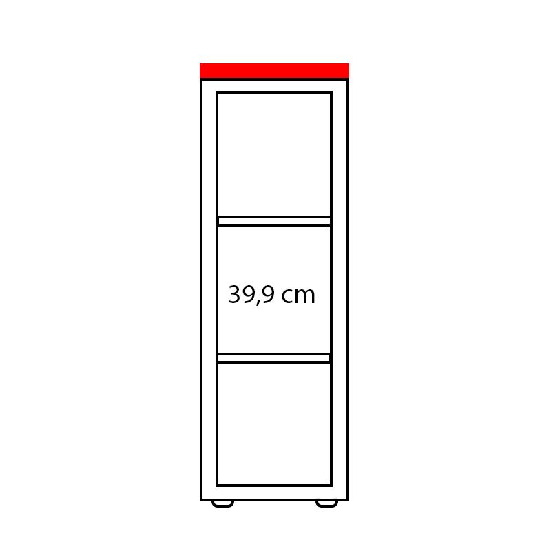 Lenza Horní obkladová deska Wels Š 47,8 cm