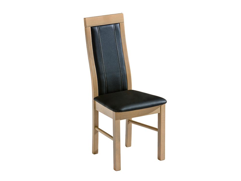 Dolmar Jídelní židle KR4 Dub sonoma, Vienna graphit