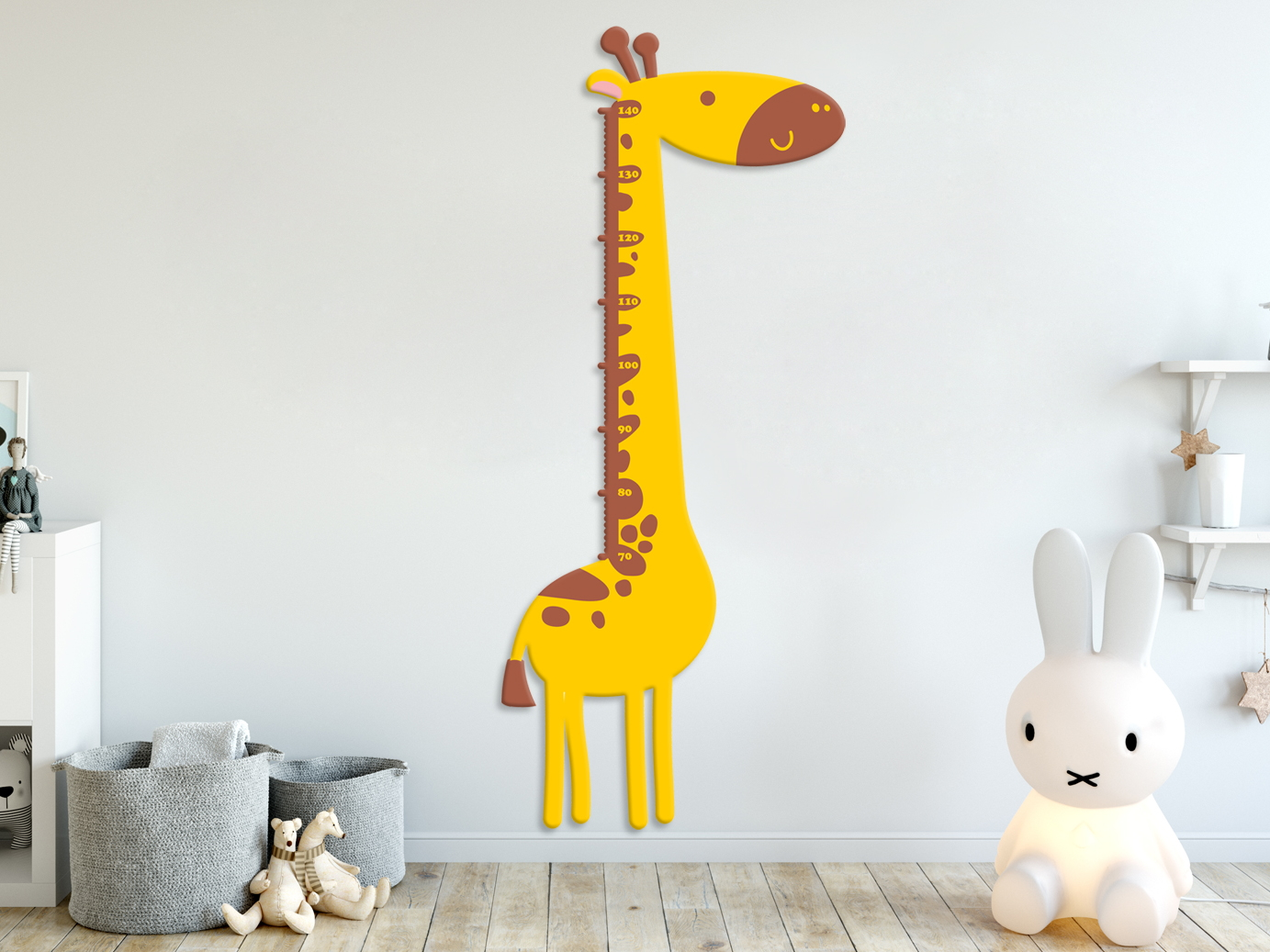 e-matrace.com Dětský metr Žirafa žlutý