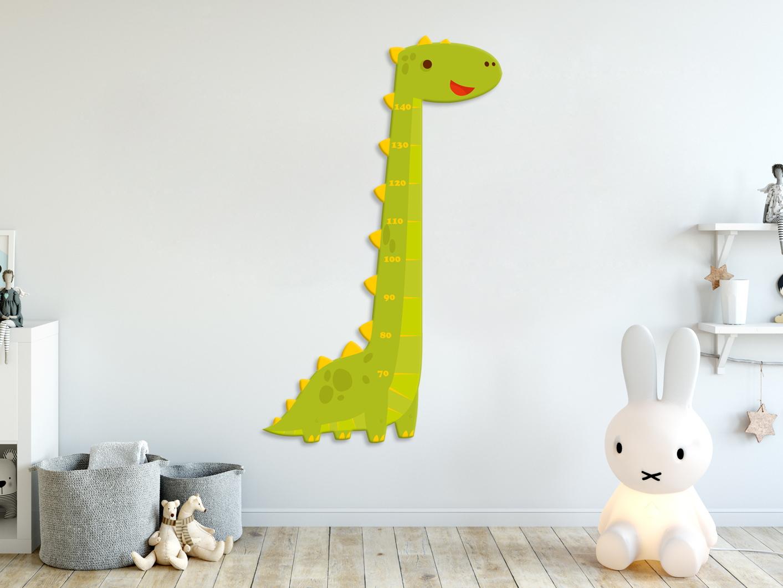 e-matrace.com Dětský metr Dinosaurus zelený