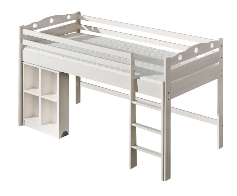 Dolmar Patrová postel Kamil Bílá, 1 ks hlavní matrace - složený kus 859d7abfe00d4d2a5c22f0aa90d48f5b