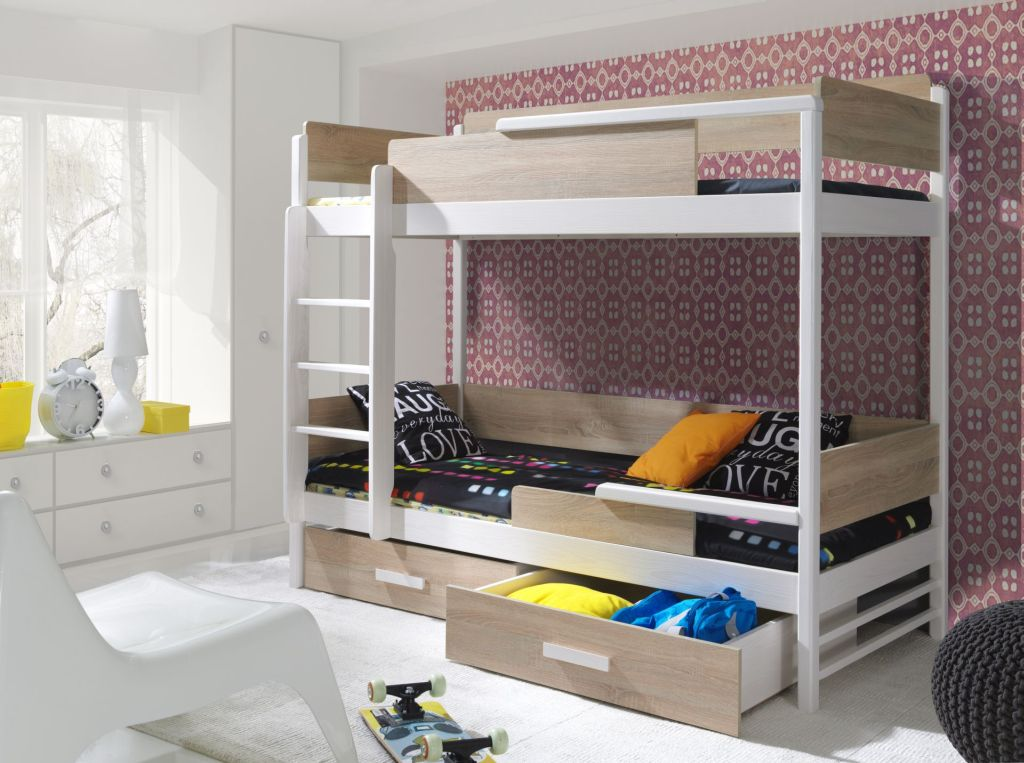 MebloBed Patrová postel Tres 80x200 cm