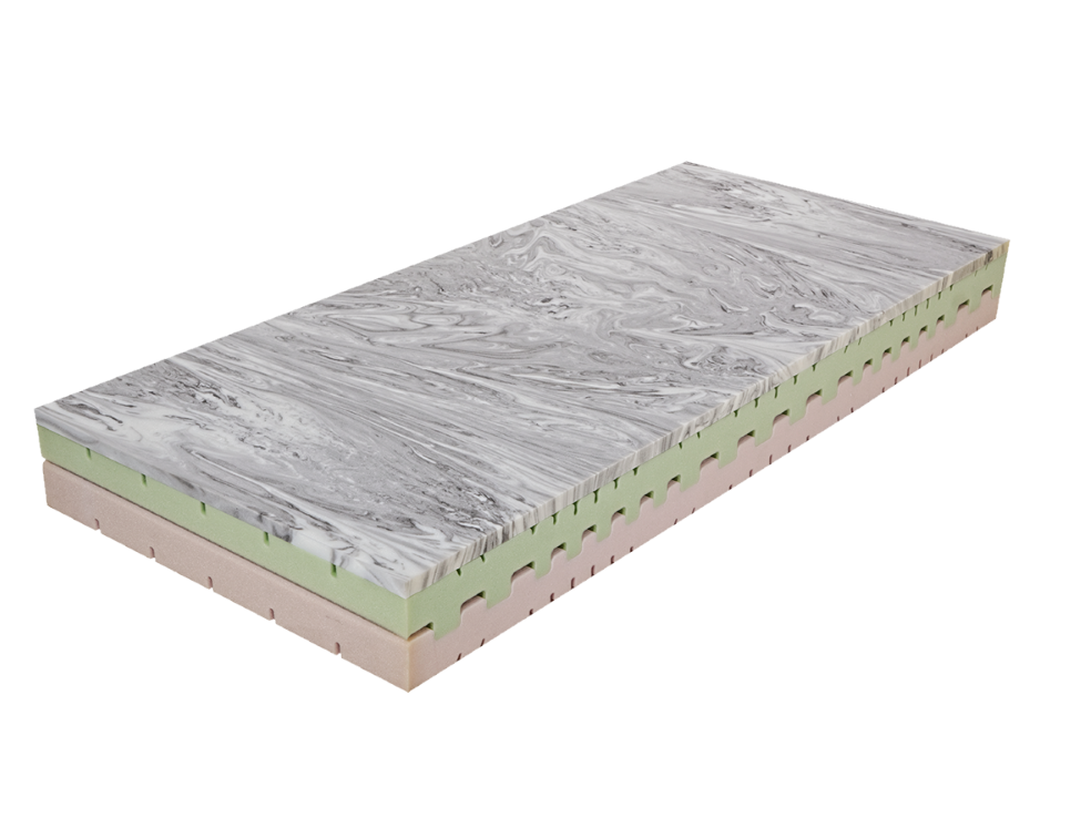HG Style Pěnová matrace Dara Panter 85x195 cm