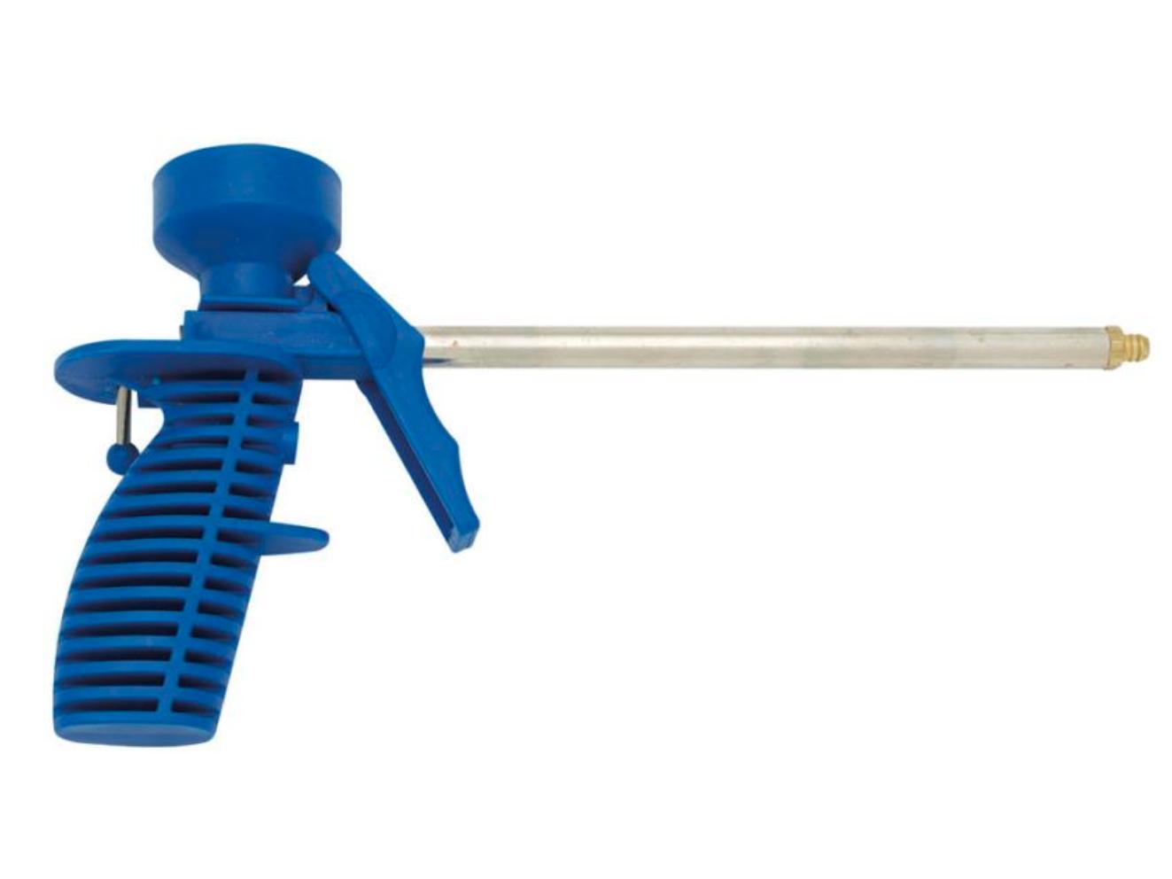 Pistole na PU pěnu Hobby modrá