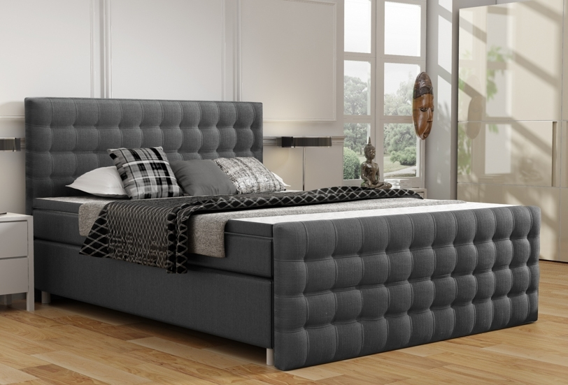 boxspring 140x200. Black Bedroom Furniture Sets. Home Design Ideas