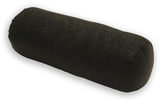 Natalia Relaxační polštář - válec černý 44x15 cm