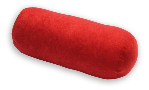 Natalia Relaxační polštář - válec červený