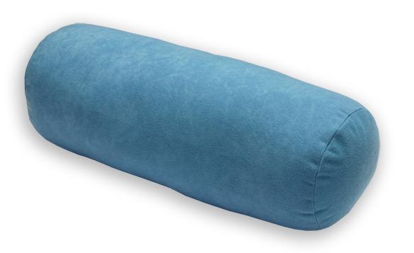 Natalia Relaxační polštář - válec modrý 44x15 cm