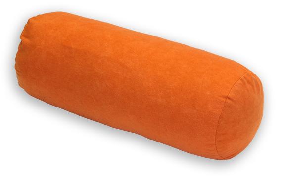 Natalia Relaxační polštář - válec oranžový 44x15 cm