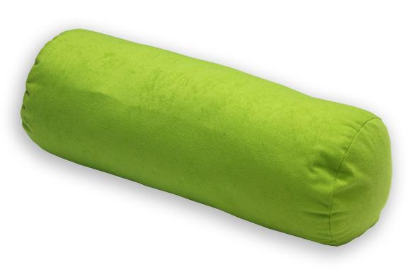 Natalia Relaxační polštář - válec zelený 44x15 cm