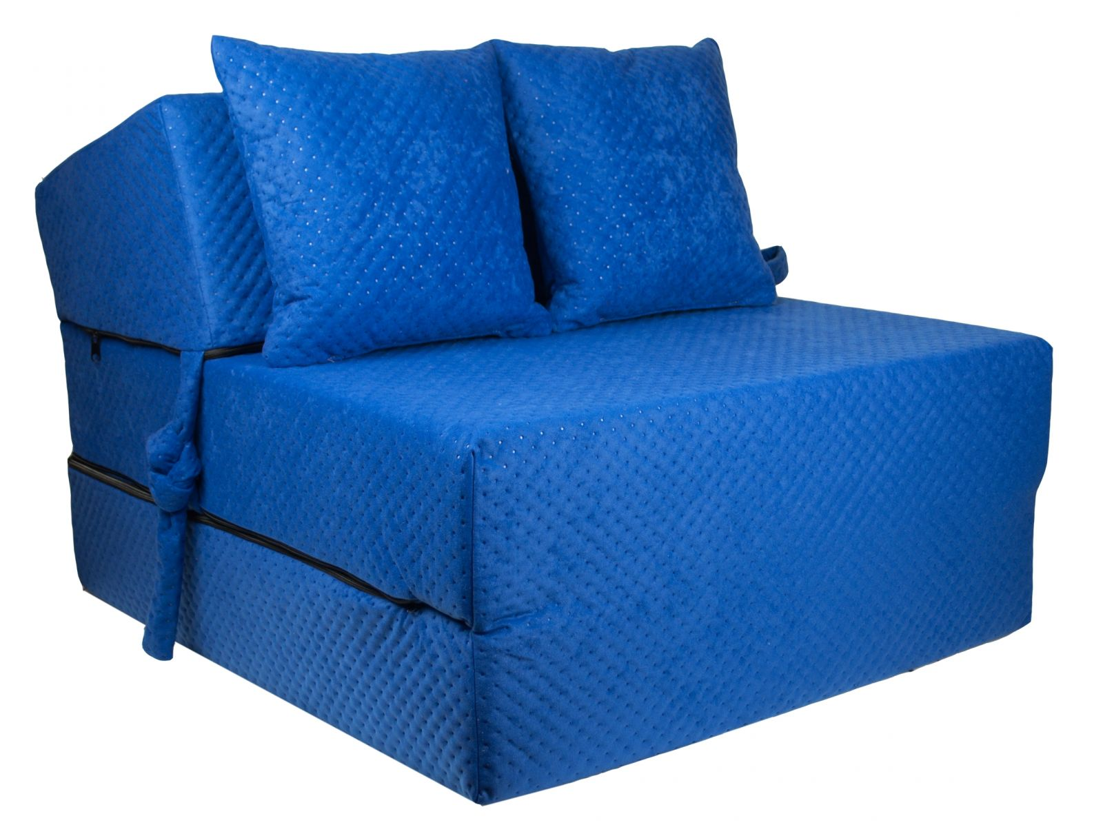 Fimex Rozkládací křeslo - matrace pro hosty Comfort světle modré