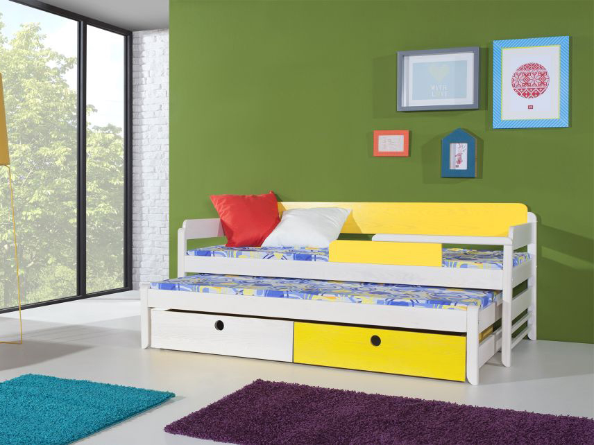 MebloBed Rozkládací postel Natu I s úložným prostorem 80x180 cm