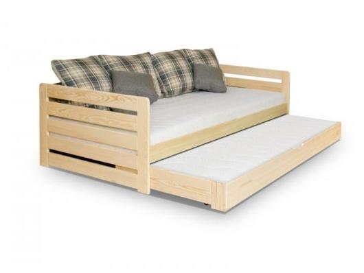 MebloBed Rozkládací postel Rodos 90x200 cm