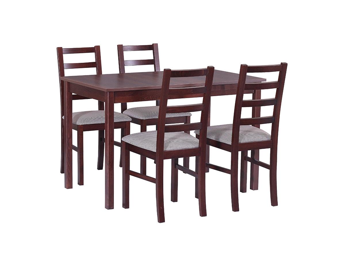 DREWMIX Sestava stůl Max II + židle Nilo VIII