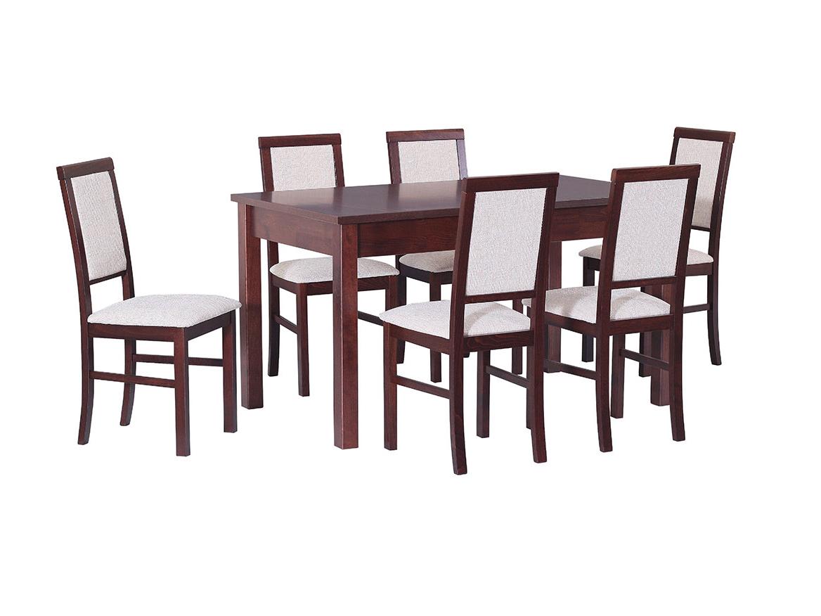 DREWMIX Sestava stůl Modena I + 6 ks židle Nilo III