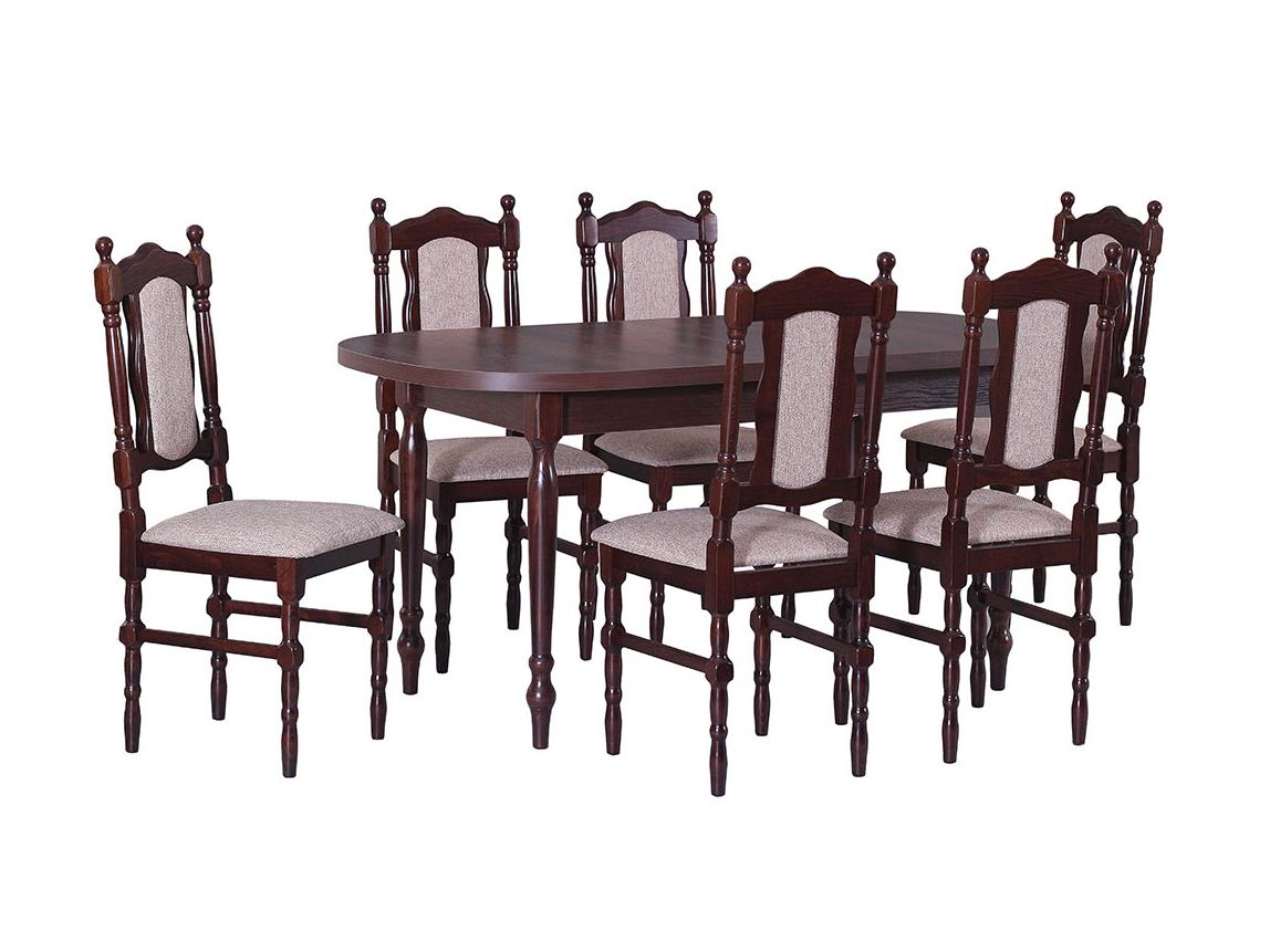 DREWMIX Sestava stůl ST I + židle Boss V