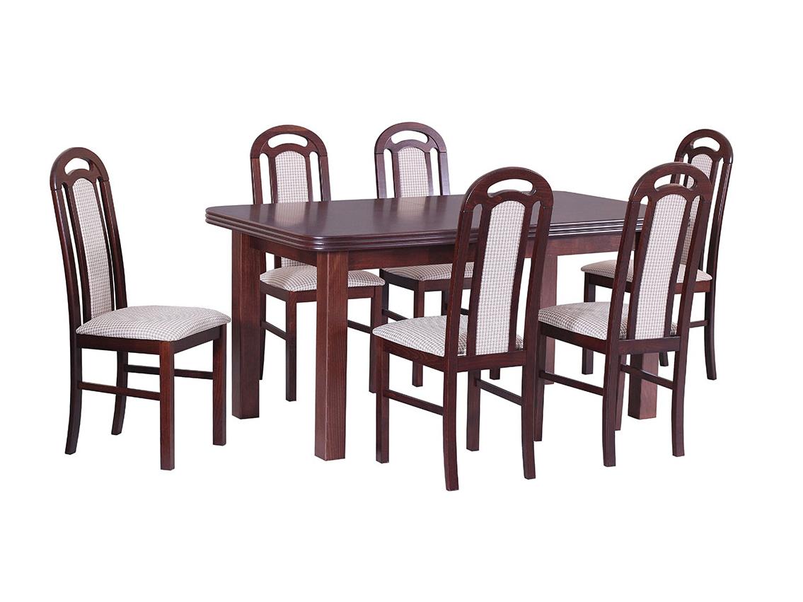 DREWMIX Sestava stůl Wenus V + židle Piano