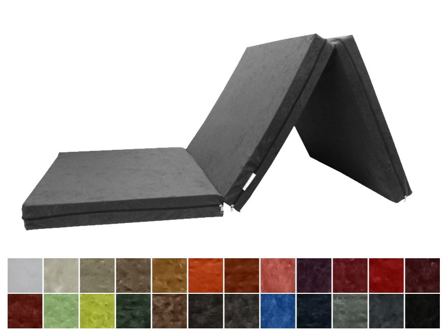 e-matrace.com Skládací matrace pro hosty 8 cm 140x195 cm