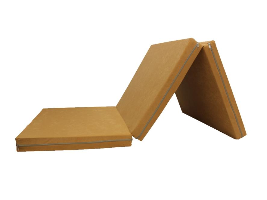 e-matrace.com Skládací matrace pro hosty béžová 8 cm