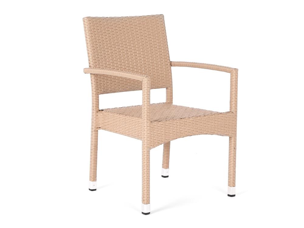 Home&Garden Zahradní ratanová židle Doris Beige