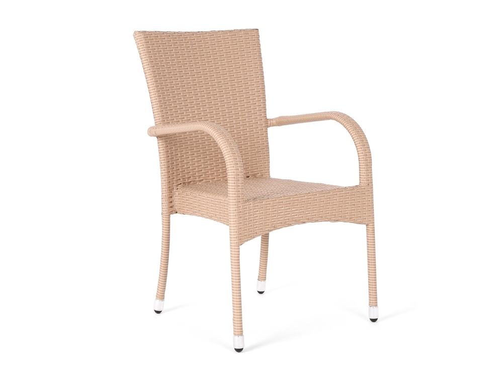 Home&Garden Zahradní ratanová židle Mori Beige